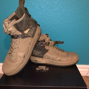 Nike SF Air Force 1's size 10's.Brand new with box